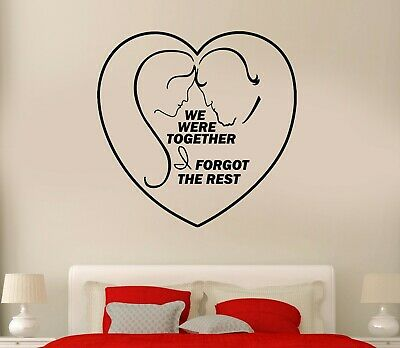 I SWEAR WE WERE INFINITE Wall Lettering Words Decal Vinyl Quote Sticker Decor