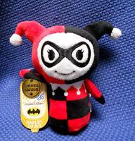 Hallmark Dc Comics Batman Itty Bittys Plush Harley Quinn Limited Edition