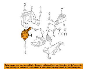 image is loading new-oem-04-08-mini-cooper-engine-mount-