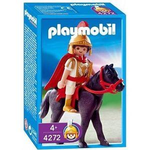 Playmobil-Roma-Roman-Tribuno-a-Caballo-Ref-4272-NUEVO-Soldado-Romano-Romer
