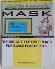 Eduard 1/72 CX093 Canopy Mask for the Fujimi F-86F/RF-86F Sabre kit