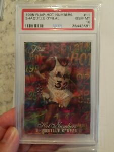 1995-96-Flair-Hot-Numbers-Shaquille-O-Neal-PSA-10-Gem-Mint-11Invest-now