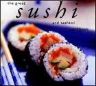 The Great Sushi and Sashimi Cookbook 9781552855423 by Whitecap Books Paperback