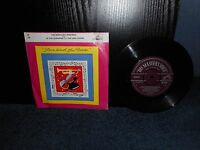 """7"""" 45rpm The Kentucky Minstrels - In The Gloaming / The Lost Chord"""