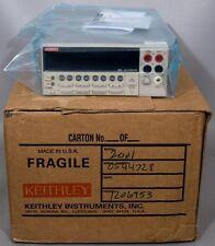 Keithley 2001 7-1/2 Digit Multimeter Multi Meter w/Cal