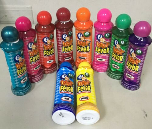 Set of 3 Dabbin Fever Bingo Dauber Marker Daubers 3 Ounce Choose Your Colors New