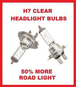 499 477 Dipped Beam Mazda 5 Headlight Bulbs 2005-2010 H7