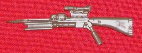 1988 Battle Gear Cobra ZANDAR RIFLE gun weapon Accessory Pack#6 GI Joe JTC AP819