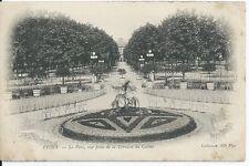 CPA 03 - POSTAL-VICHY - El Parque, vista desde de postal- la terraza del casino