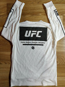 Reebok-UFC-Rashguard-Mens-Sweatshirt-Track-Jacket-Long-Sleeve-Jersey-H-R-S-D
