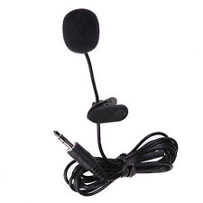 3.5mm Hands Free Clip Mini Lapel Mic Microphone for MP3 MP4 Mobile Phone Laptop