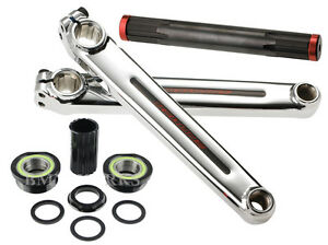 Redline-Flight-BMX-Crank-Set-Chome-Moly-175mm-with-Euro-Bottom-Bracket