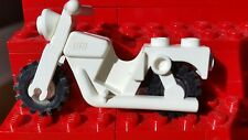 Vintage Classic Genuine Lego Motorcycle Frame and Wheels Riding Cylce