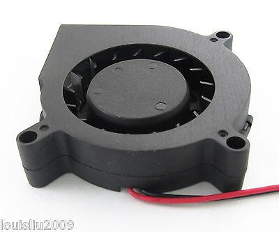 1pc Brushless DC Cooling Blower Fan 12V 60x60x15mm 60mm 6015 2 pin