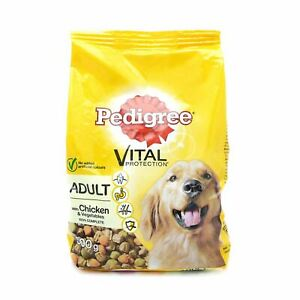 Pedigree Vital Dry Dog Food Chicken Veg Flavour 500g Adult