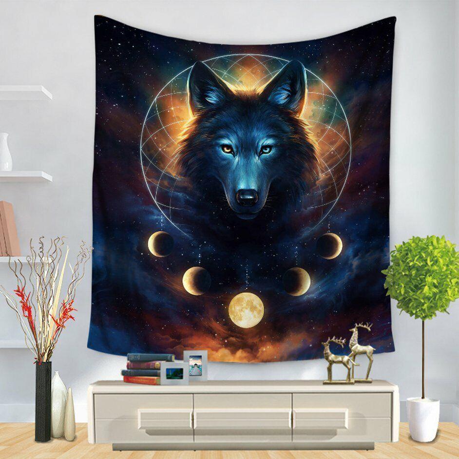 Mandala Hanging Wall Tapestry Boho Blanket Picnic Mat Home Bedroom Decor #8Y