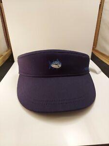 SOUTHERN-TIDE-Navy-Blue-Strapback-Skipjack-Adjustable-Hat-Visor