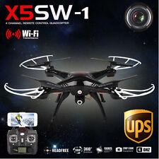 X5SW-1 Wifi FPV RTF 2.4G 4CH RC Black quadcopter Camera Drone with HD Camera UAV