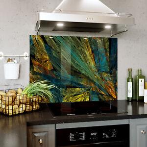 Verre Splashback Cuisine & Salle De Bain Panel Toute Taille Fractal Texture Abstract 0378-afficher Le Titre D'origine Haut Niveau De Qualité Et D'HygièNe
