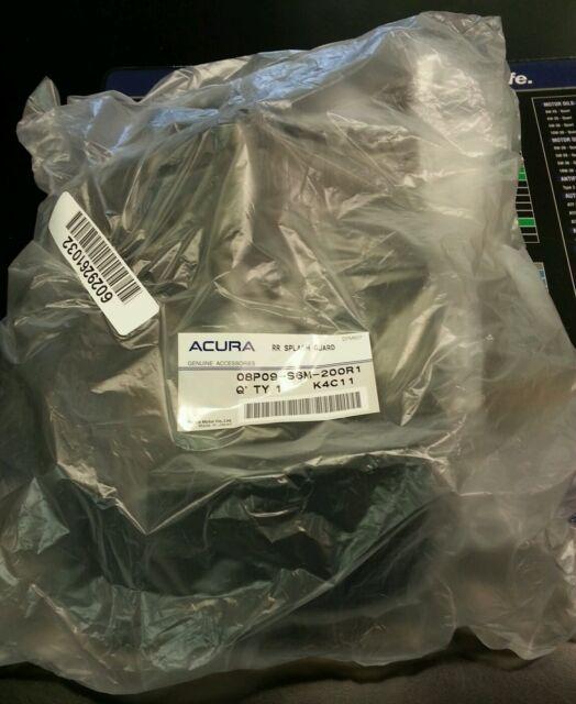 OEM Acura 02-04 RSX Rear Mud Guards Flaps Splash Set Honda Genuine