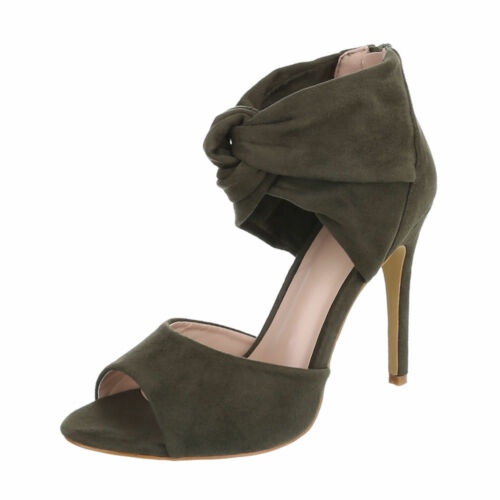 HIGH HEELS PUMPS SANDALETTEN DAMENSCHUHE 5942 0€