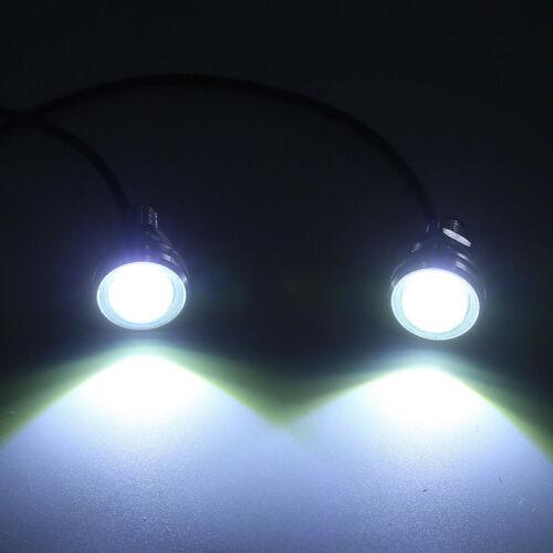 2X18W Eagle Eyes Lamp Daylight LED DRL Fog Daytime Running Cars Light Tail#Light