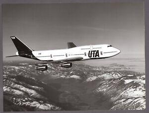 UTA BOEING 747-300 LARGE PHOTO FRANCE