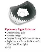 Tpc Dental Operatory Light Reflector For Belmont Lsm And Celux Lights Fda