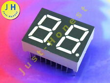 LED Anzeige 7-Segment Numeric Display 2 DIGIT Rot / Red  CC (Kathode) #A1286