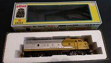 ATLAS HO SCALE #7041 SANTA FE FP-7 DIESEL TRAIN ENGINE UN NUMBERED