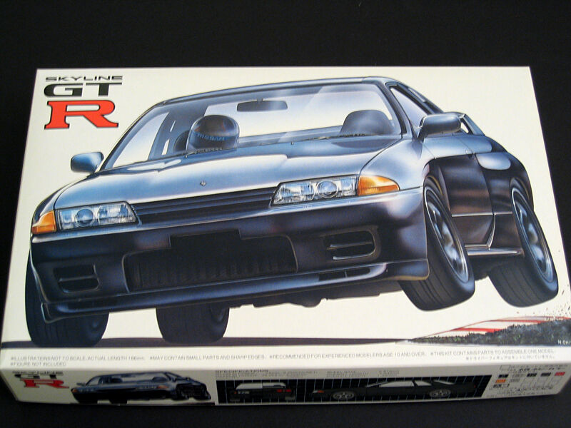 1 24 Japan Fujimi Nissan R32 Skyline GT-R Plastic Model