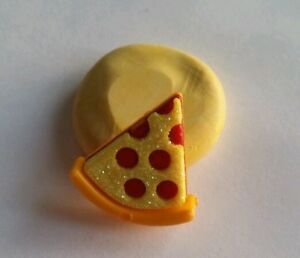 Slice of pizza 22mm Silicone flexible mold for chocolate fondant clay & more