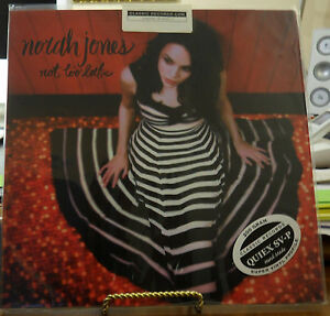 NORAH-JONES-NOT-TOO-LATE-200-GRAM-VINYL-LP-CLASSIC-RECORDS-AUDIOPHILE