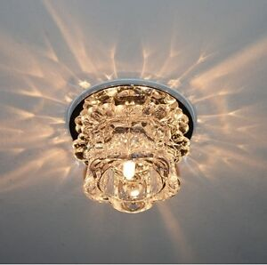 Small crystal led ceiling light fixture hallway ceiling lamp image is loading small crystal led ceiling light fixture hallway ceiling aloadofball Choice Image