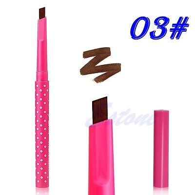 Waterproof Eyebrow Pencil Liner Eye Brow Powder Cosmetic Beauty Makeup Tools