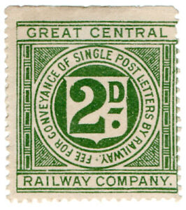 I-B-Great-Central-Railway-Letter-Stamp-2d