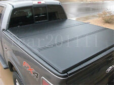 For 2004-17 Ford F-150 5.5ft Short Bed Hard Tri-Fold Tonneau Cover Clamp-On