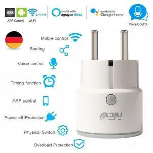 Wlan Stecker Für Steckdose : de neo smart steckdose wifi wlan f r amazon alexa ~ Watch28wear.com Haus und Dekorationen