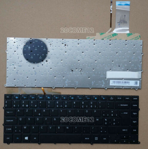 FOR Samsung NP900X4B NP900X4C NP900X4D Keyboard Backlit Belgian Clavier Azerty