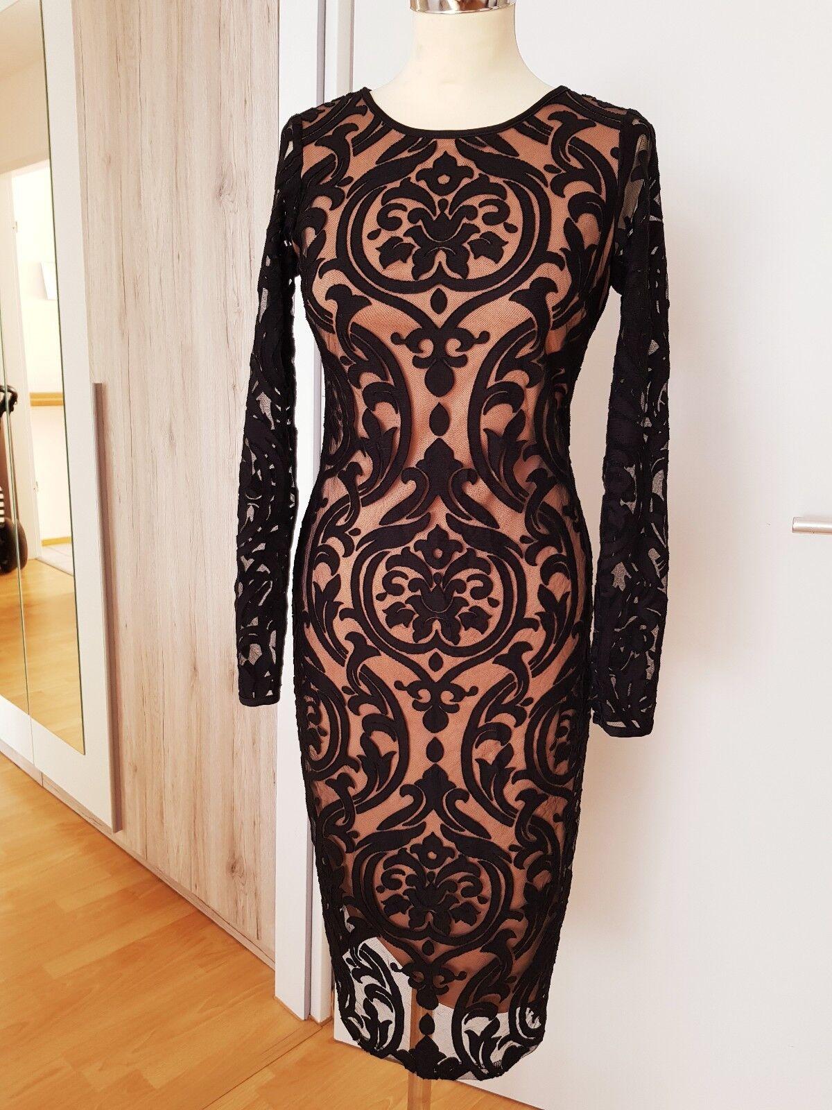 Kleid von NEXT in gr. 36 Schwarz Beige NEU