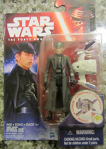 """2015 STAR WARS THE FORCE AWAKENS GENERAL HUX 3.75/"""" ACTION FIGURE"""