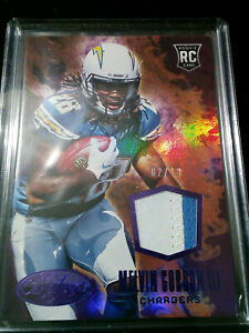 2015 Certified Melvin Gordon III San Diego Chargers RC Patch /10