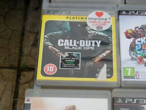 CALL-OF-DUTY-BLACK-OPS-PLATINUM-PS3-PLAYSTATION-3-EXCELLENT-CONDITION
