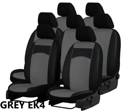 VW SHARAN Mk2 7 SEATS 2010 ONWARDS ECO LEATHER SEAT COVERS MADE TO MEASURE