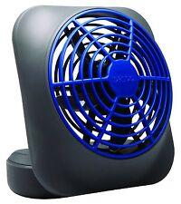 "O2 Cool 5"" Portable Volcano Blue Battery Operated Fan, FD05006BLU"