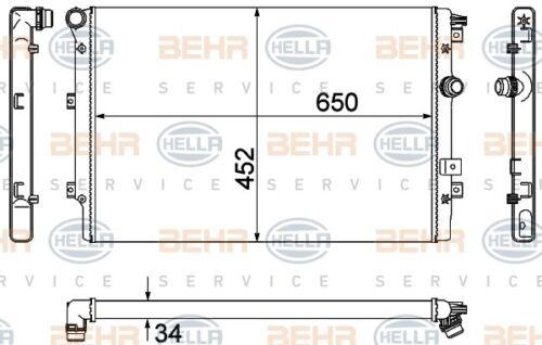 For VW Tiguan 2008-2011 FI CCTA Radiator Behr 376901021