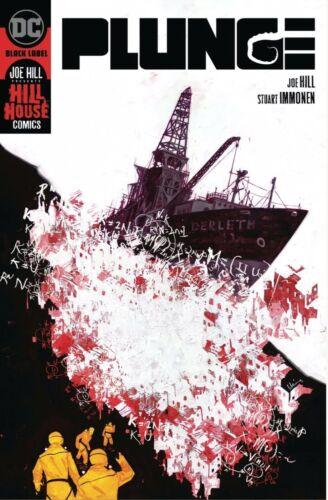 Plunge #1 Hillhouse DC COMICS Horror Joe Hill 2//19//20 Free Shipping Available