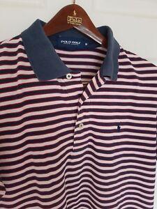 Mens-POLO-GOLF-by-RALPH-LAUREN-short-sleeve-polo-shirt-Size-medium-RRP-90
