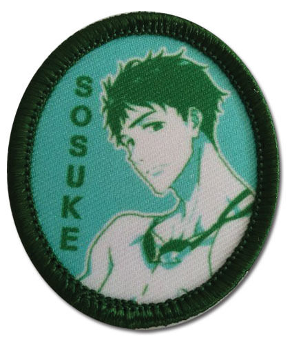 """Free 2 Anime Sosuke Patch 2/"""" x 1 1//2 /"""" Licensed by GE Animation 69985 Free Ship"""
