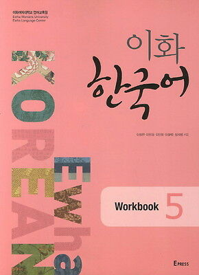 Ewha Korean Workbook 5 Korean Language Book Free Ship